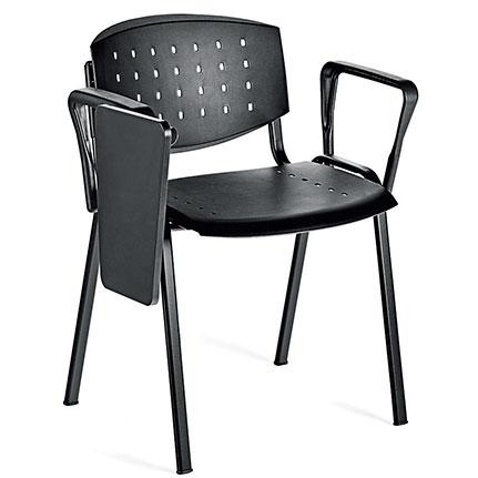 chaise avec tablette chaises de runion avec accoudoirs et tablette critoire with chaise avec. Black Bedroom Furniture Sets. Home Design Ideas