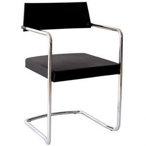 301---Chaise-fixe-WAIT---Dossier-noir